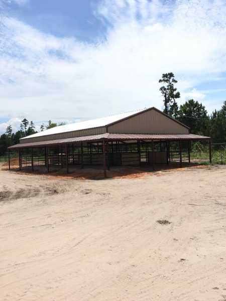 horse barn with stalls building construction texas